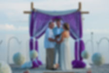lovely key west beach wedding