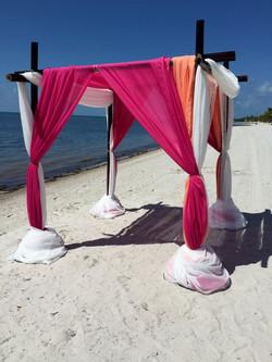 Beach wedding in Key West Fl