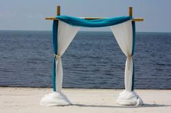 Ocean view arbor