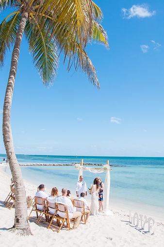 Miami beach wedding, Key West beach wedding