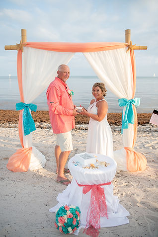 Bech wedding ceremony key west