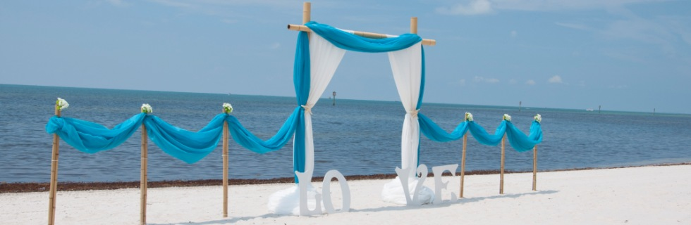 key west weddings arbor with love