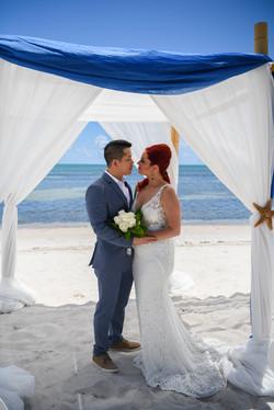 Cruise ship wedding in Key West