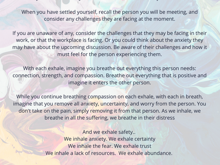Meditation for Meeting With Compassion