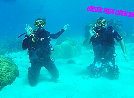 Unser PADI Open Water Diver