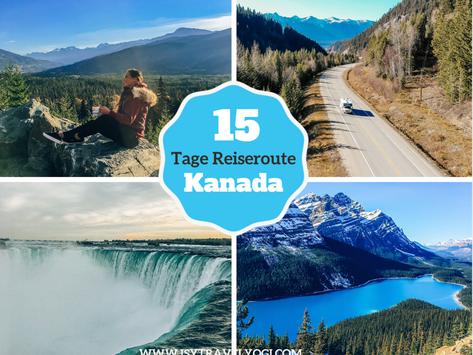 Reiseroute: 15 Tage Camper Roadtrip durch Kanada mit Indian Summer und den Niagarafällen