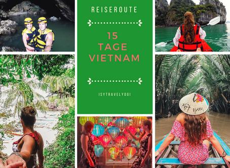 Reiseroute zwei Wochen durch Vietnam