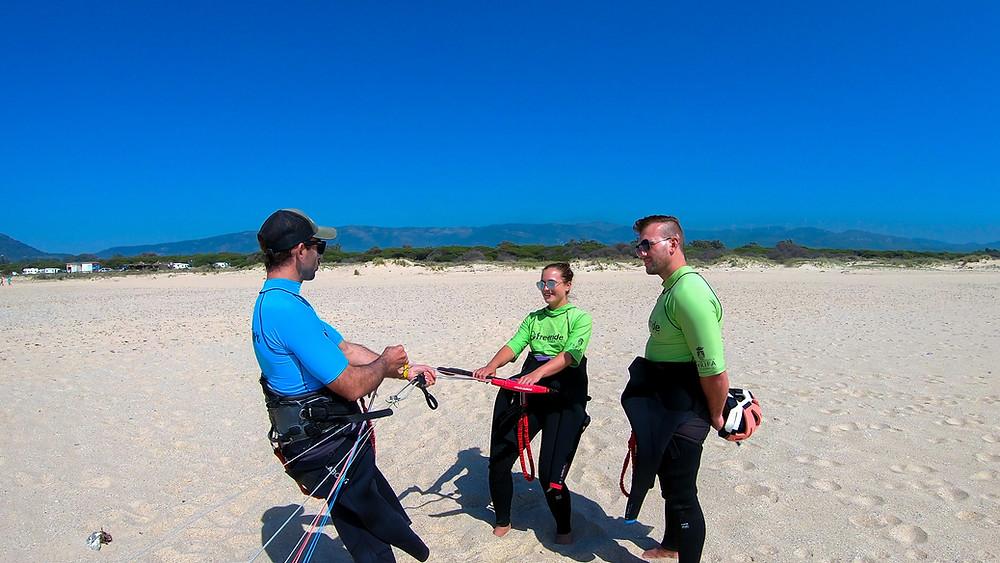Andalusien-Tarifa-Kite-Surfing-Freeride