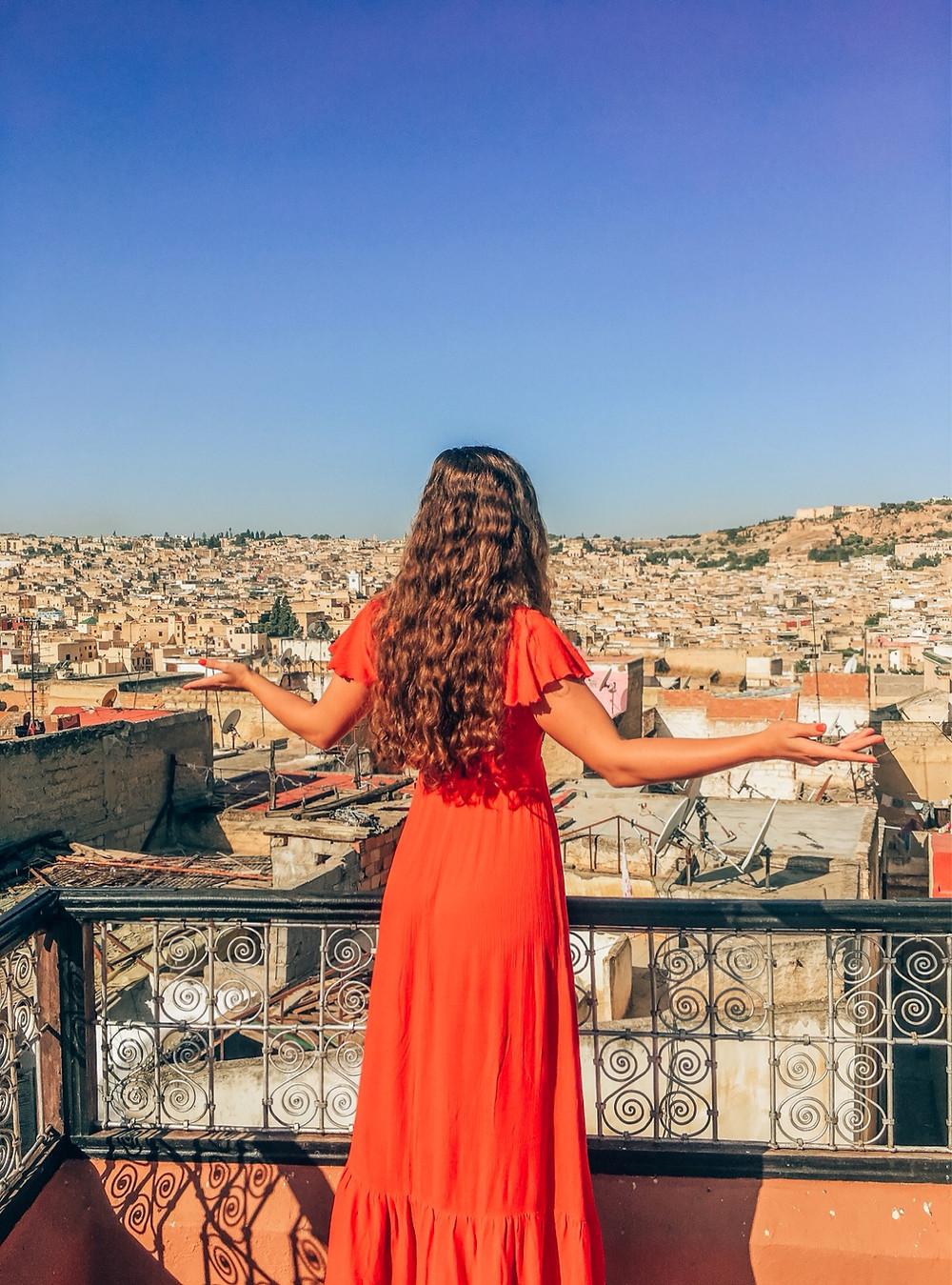 Fés-Marokko-Unterkunft-Riad-Reisebericht-Reisetipps