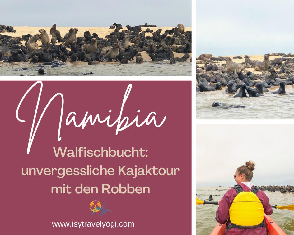 Namibia-Walfischbucht-Robben-Kajaktour