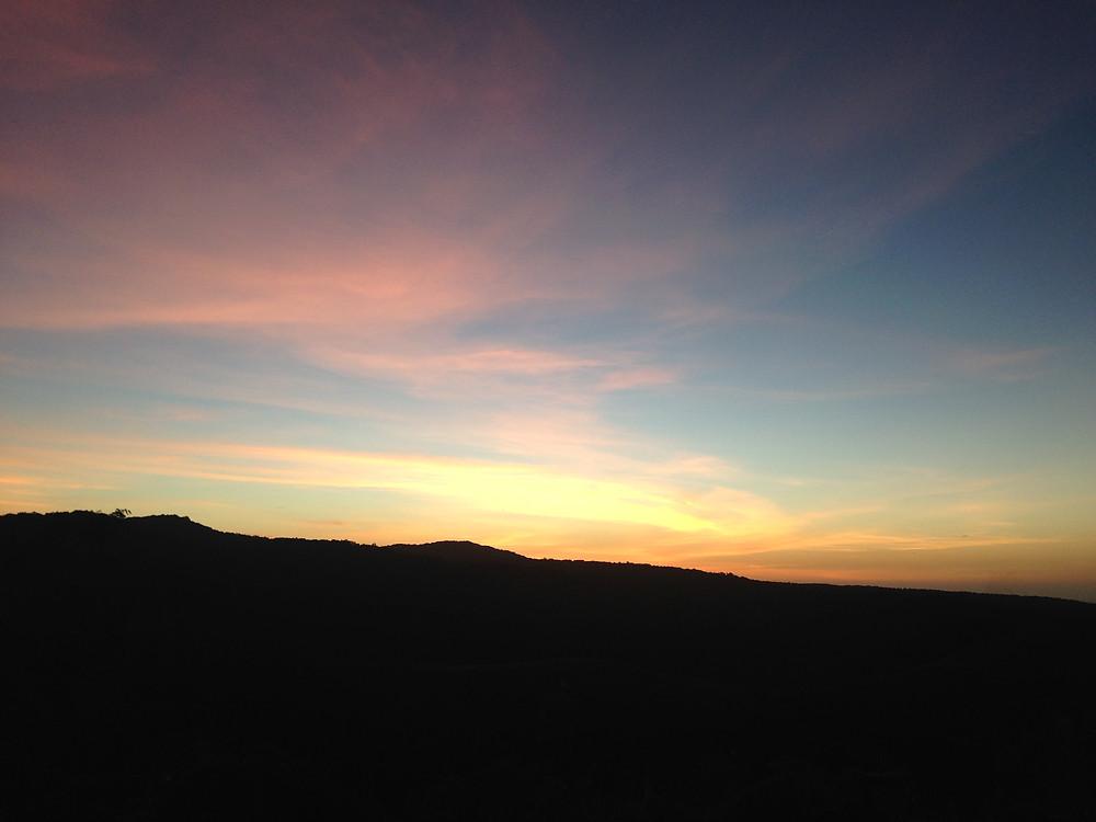 Sonnenuntergang Montagne dámbre