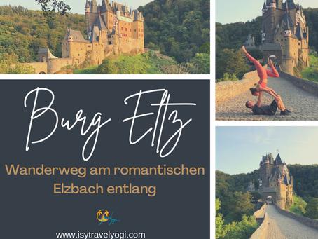 Wandern zur Burg Eltz- am romantischen Elzbach entlang von der Ringelsteiner Mühle zur Burg