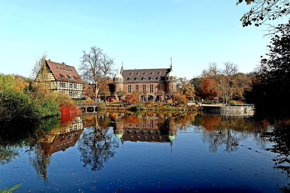Wasserschloss-Wittringen-NRW-Gladbeck-Unternehmungen-Corona-Lockdown