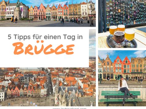 Belgien: 5 Tipps für einen Tag in Brügge