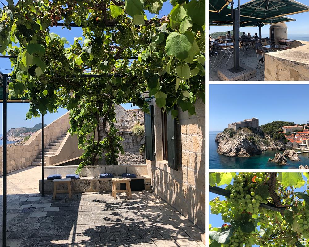 Dubrovnik-stadtmauer-cafe-reisebericht