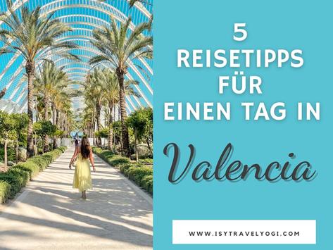 Valencia 5 Reisetipps für einen Tag-Sehenswertes und Fotospots