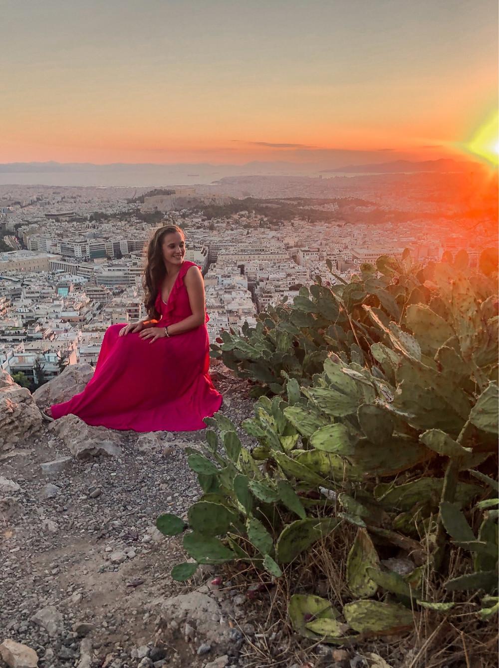 Sonnenuntergang-lycabettus-huegel-athen-reisetipp