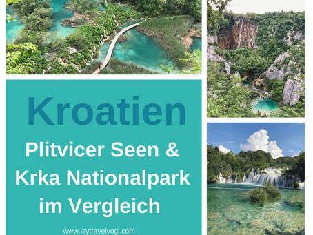 Kroatien Urlaub: Plitvicer Seen und Krka Nationalpark, die Vor- und Nachteile im Vergleich!