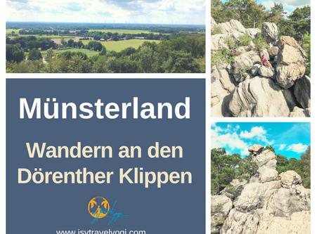 Deutschland: Wandern an der Teutoschleife bei den Dörenther Klippen