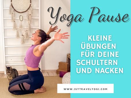 Yoga-Pause: Kleine Übungen für deine Schultern und Nacken