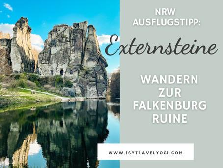 Externsteine im Teutoburger Wald: Besucher Tipps & Wandern zur Falkenburg Ruine