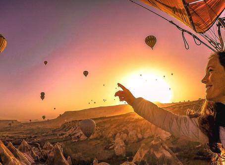 Heißluftballonfahrt über Kappadokien- ein Traum wurde wahr!