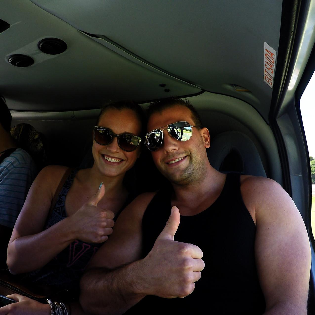 Helikopterflug Wasserfälle Iguacu Brasilien und Argentinien
