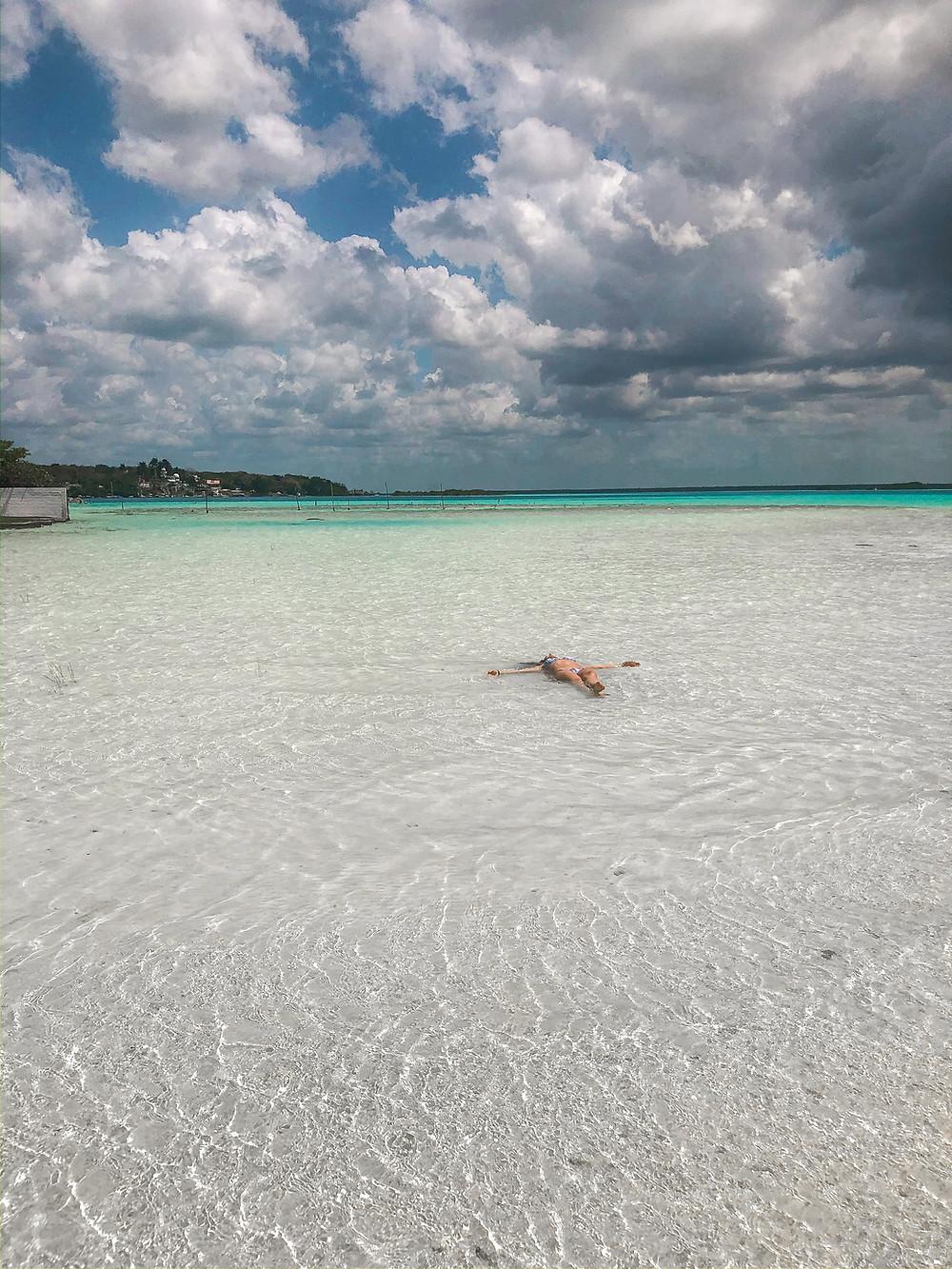 Mexiko-Bacalar-schwimmen-lagune-tipps