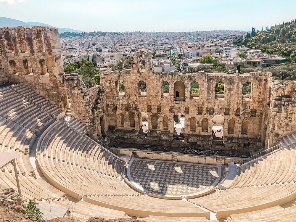 Dionysos-Theater -Akropolis-Athen-Besuch-reisetipps