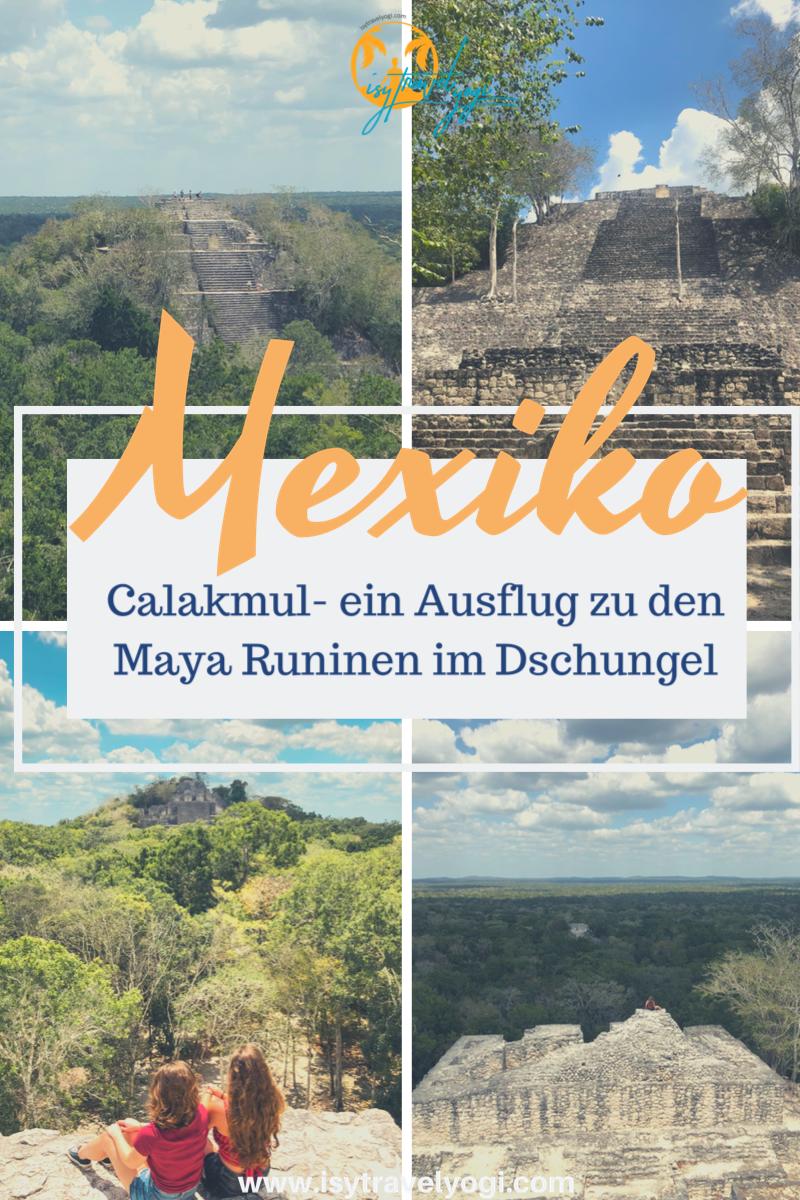 Mexiko-Calakmul-Maya-ruinen-Tempel-Sehenswertes