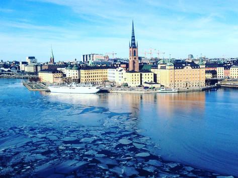Mädelstrip nach Stockholm