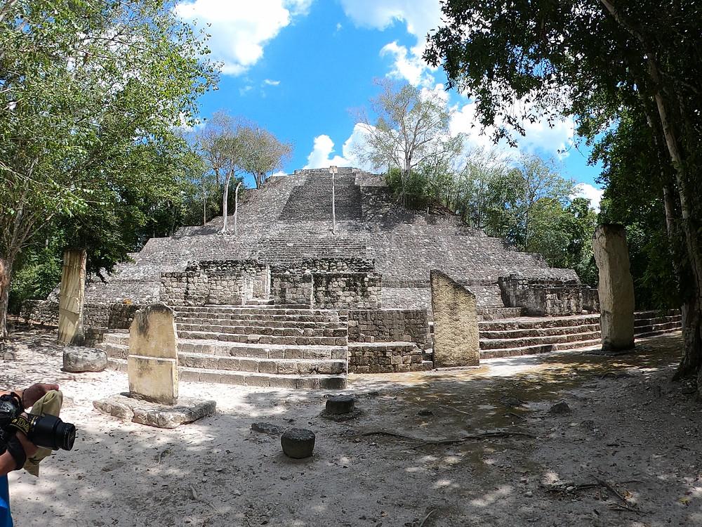 Calakmul-Ruinen-mexiko-Anfahrt-estructura