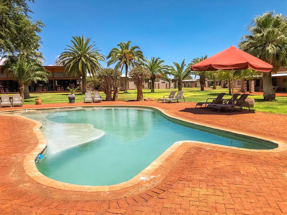 Kalahari-Wüste-Anib-Lodge