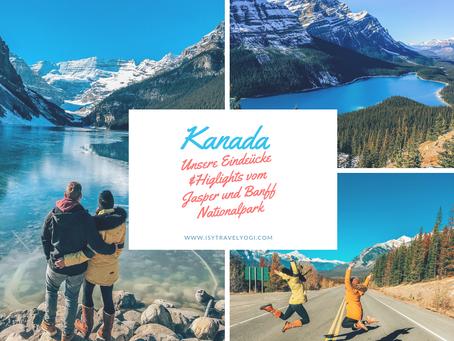 Kanada: Unsere Eindrücke und Highlights vomJasper und Banff Nationalpark