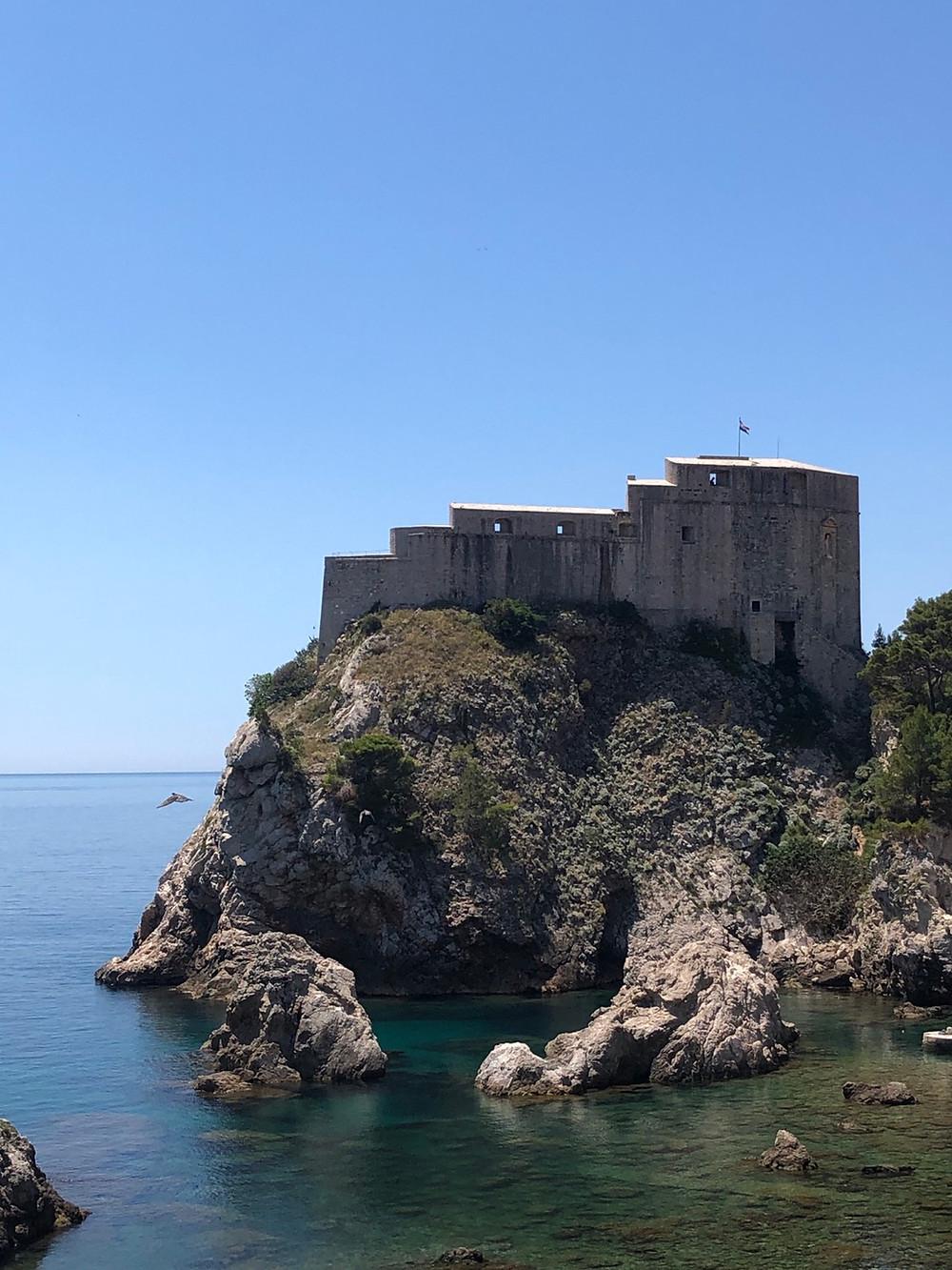 Dubrovnik-festung-lovrijenac-reisebericht