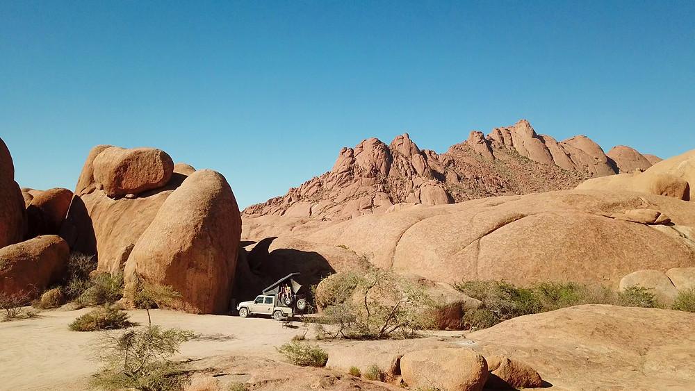 Namibia-Spitzkoppe-Rundreise