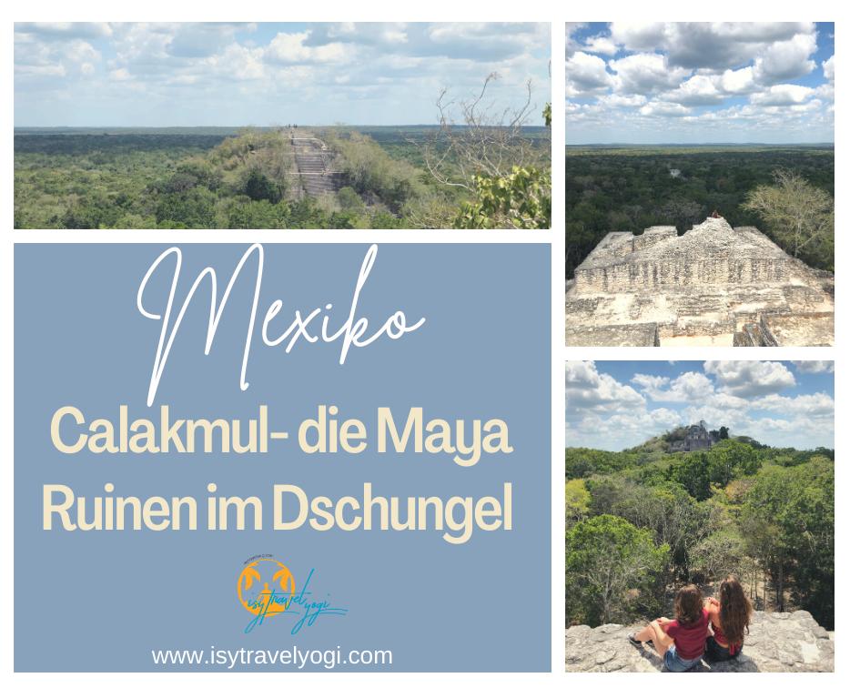 Mexiko-Chalakmul-Ruinen-Maya-Anfahrt-Tempel-sehenswertes-Yucatan