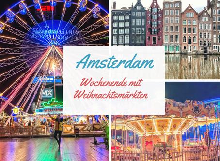 Wochenende in Amsterdam zur Weihnachtszeit