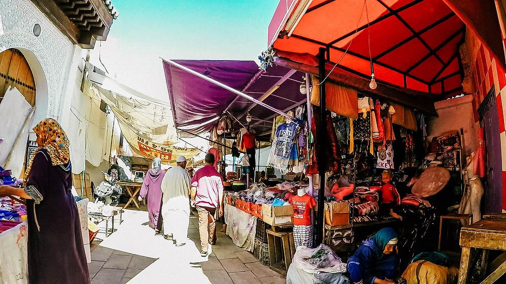 Fés-Sehenswertes-Reisetipps-Reisebericht-Medina