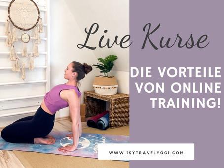 Live Kurse- die Vorteile von Online Training!