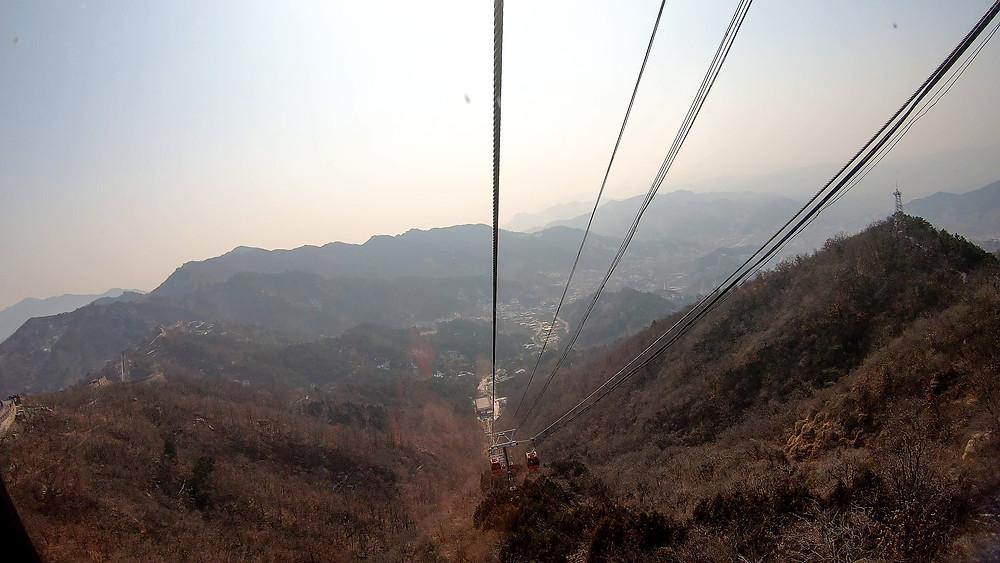 Peking-Chinesische-Mauer-Ausflug-Tour-Tagesausflug-Reisebericht-Seilbahn