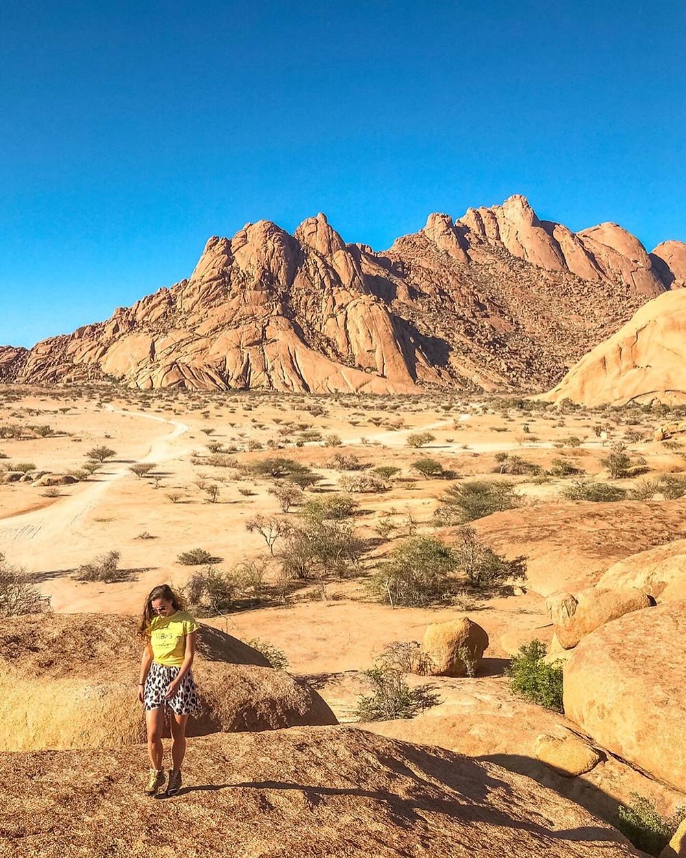 Namibia-Spitzkoppe-Reiseebricht-Rundreise