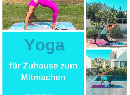 Yoga Videos für Zuhause zum Mitmachen