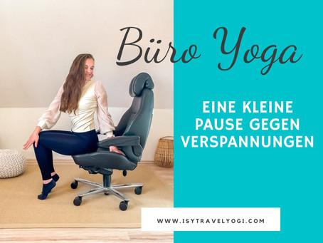 Yoga-Pause im Büro: Kleine Übungen gegen Verspannungen!