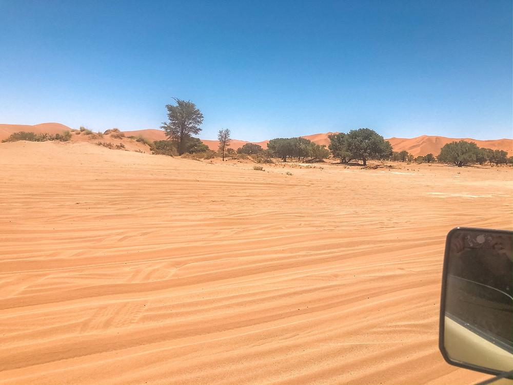 Namibia-deadvlei-Fahrt
