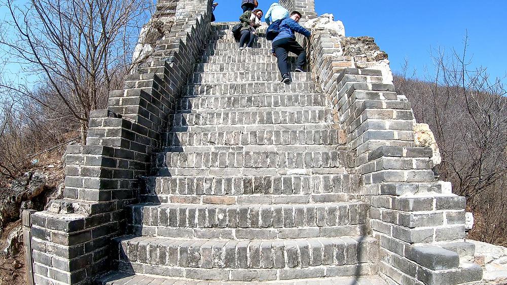 Peking-Chinesische-Mauer-Ausflug-Tour-Tagesausflug-Reisebericht-Winter