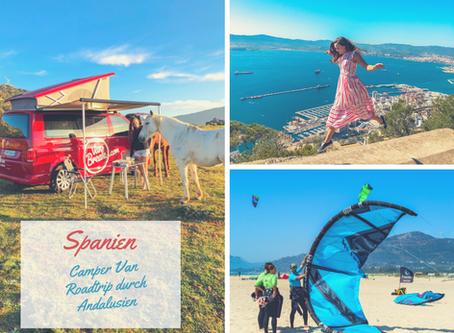 Spanien: Camper Van Roadtrip durch die wunderschöne Landschaft von Andalusien