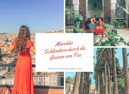 Marokko: Schlendern durch die Gassen von Fès