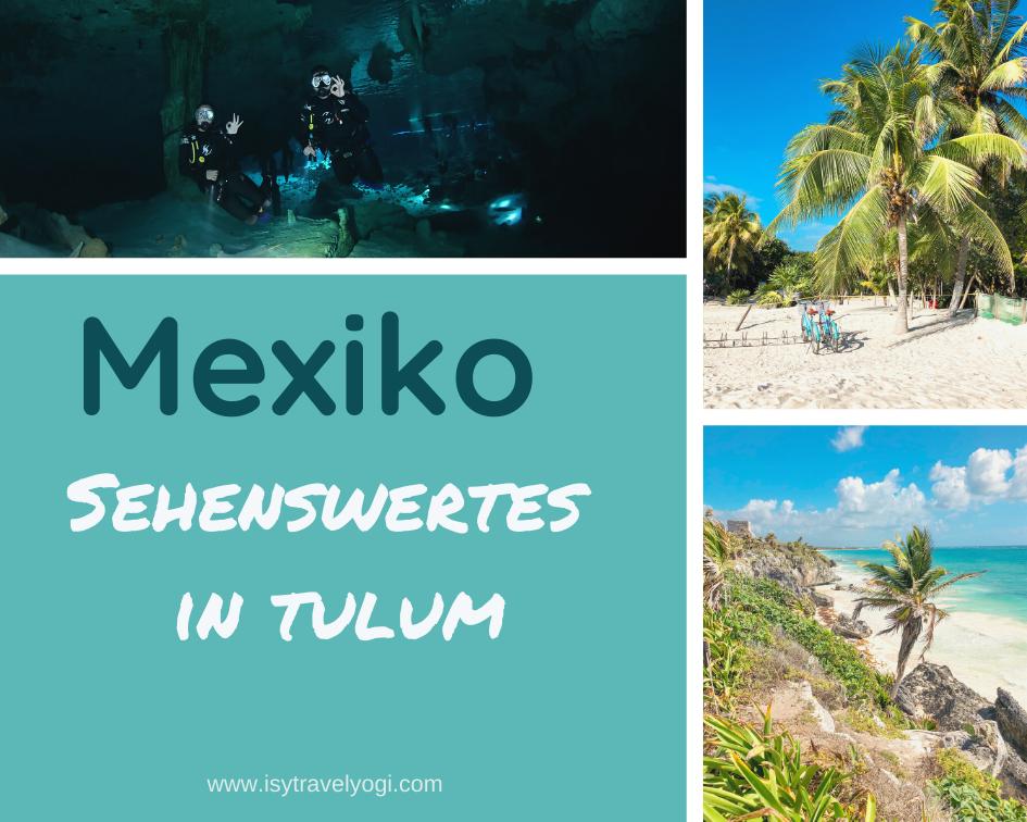 Mexiko-Tulum-Sehenswertes-Maya-Tempel-Strand