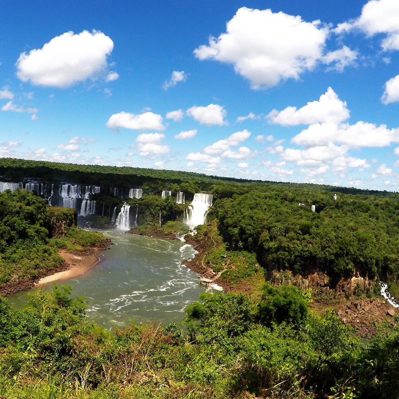 Wasserfälle Iguacu Brasilien